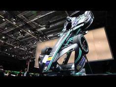 Live from 2016 Paris Auto Show // Jaguar i Type - Formula-e - YouTube