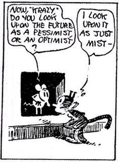 krazy and ignatz old cartoons, classic cartoons, classic comics, art  spiegelman, mutts