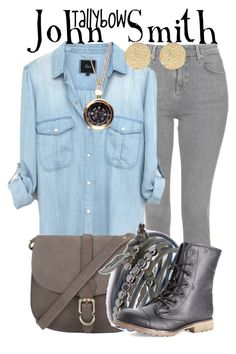 """John Smith"" by tallybow ❤ liked on Polyvore featuring Topshop, John Lewis, We Are All Smith, Gag & Lou, Dirty Laundry and River Island"