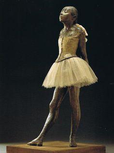 Edgar Degas - La Petite Danseuse de quatorze ans (1881)
