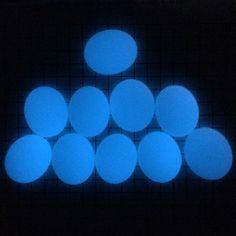 GLOW GLASS DROPLETS (MEDIUM) - BLUE (GLOW)