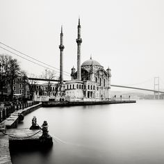 Ortakoy, Istanbul. One of the loveliest places to visit, too bad the mosque is under construction for a few years.