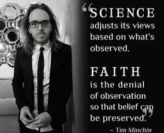 Tim Minchin~preserve it at all costs...lest the masses lose their faith, and start to think and question for themselves...and once they remove religion & politics from the equation they can see the real culprit and call it out, which is greed and power.