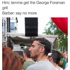 More Hilarious Say No More Barber Memes Photos) Barber Memes, Lol, Can't Stop Laughing, Funny Cute, Super Funny, Funny Posts, Just In Case, I Laughed, Laughter