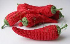Gallery.ru / Фото #39 - Вязаные витамины (фрукты и овощи) - knitka