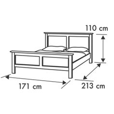 Top 40 Useful Standard Bed Dimensions With Details - Engineering Discoveries Pallet Deck Furniture, Welded Furniture, Outdoor Furniture Plans, Iron Furniture, Steel Furniture, Bedroom Furniture, Furniture Design, Bed Frame Plans, Bed Frame And Headboard