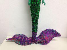 Hand Made Garden Mermaid Dolls Nautical Decor by TheIDconnection, $45.00