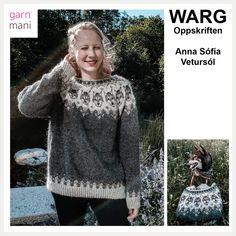 Anna, Knitting Projects, Handicraft, Christmas Sweaters, Knit Crochet, Wool, Pattern, Black, Crocheting