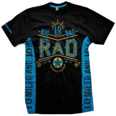 Impressive Blue Printed T-shirt