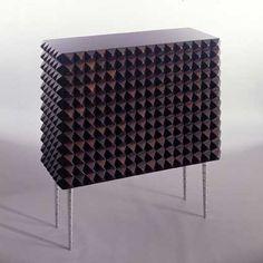 Paolo Buffa, Rosewood 'Bugne' Cabinet, 1940.