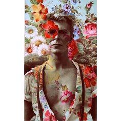 Instagram media elodiecabrera - #davidbowie #ripdavidbowie (if someone knows who did that portrait)
