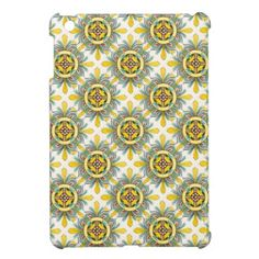 Funky Vintage Colorful Celtic Graphic Design iPad Mini Covers