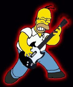 Rock Roll, Music Heart, Simpsons Art, Extreme Metal, Horror Show, International Day, Band Photos, Heavy Metal Bands, Illustrations And Posters