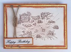 Irena's art - a man's card