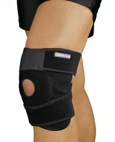 0356ebc28f Bracoo Breathable Neoprene Knee Support, One Size, Black,Manufactured by:  Yasco - Catalog Cheap Price Every Day (Updated)