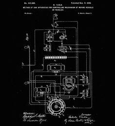 Tesla method of operating arc lamps patent print tesla blueprint art 8 inventos olvidados que nikola tesla descubri antes que nadie malvernweather Images