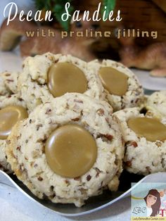 Lady Behind The Curtain - Pecan Sandies with Praline Filling