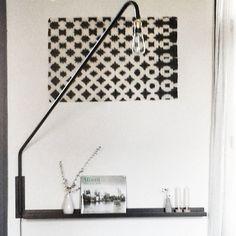 En noir et blanc #madecoamoi @atelierrueverte