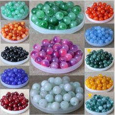Beads & Jewelry Making Natural Stone Multicolor Agates Round Beads For Jewelry Making 4 6 8 10 12mm Spacer Beads Diy Necklace Bracelet Wholesale Neither Too Hard Nor Too Soft Jewelry & Accessories