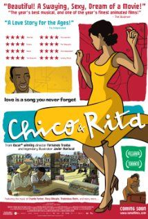 Chico & Rita (2010). I loved the clever use of animation in this love story. Music was very catchy.