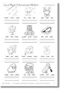 ee and ea free worksheet teaching reading writing pinterest free worksheets worksheets and ea. Black Bedroom Furniture Sets. Home Design Ideas