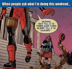 TGIF! Like/Share if you have similar weekend plans.