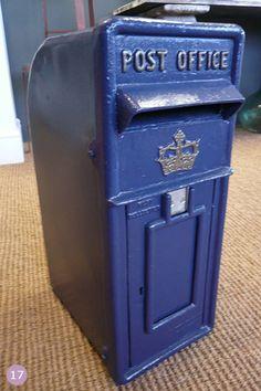 Blue Wedding Theme Ideas | Blue Post Box