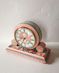 Learn how to make this lovely Time to Celebrate clock with a tutorial from Diane's workshop #graphic45