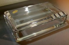 $59.99 starting bid. Val St Lambert Crystal Cigarette Box 232900 Signed MIB