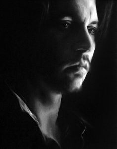 Johnny Depp - did this piece a bit ago and really like how it turned out. Am always drawn to portraits with deep shadow. painting is oils on canvas and is 11x14.