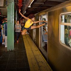 You know just entering the subway