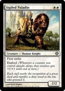 4 Accorder Paladin ~ White Mirrodin Besieged Mtg Magic Uncommon 4x x4