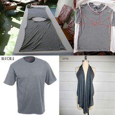Shirt vest