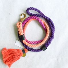 beautifully handcrafted dog leash, made in chicago #notyers #dogleash #rope