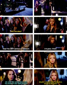 PLL 5x01 hanna, aria, emily, spencer and alison