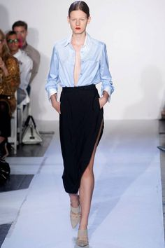 Skin Tight: Spring runway looks will truly flatter your body.