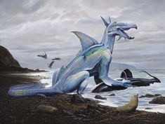 Wayne Barlowe Taniwha novaeseelandiae ngakensis (2012) http://waynebarlowe.wordpress.com/artwork/other-projects/
