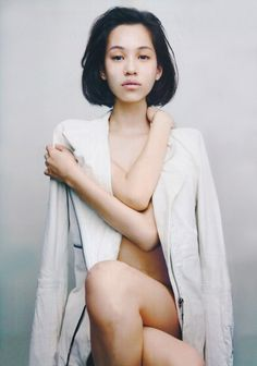 kiko mizuhara by anders edström for another magazine spring summer 2012