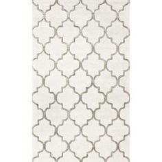 nuLOOM Park Avenue Trellis Nickel 5 ft. x 8 ft. Area Rug SBHAC13A-508 at The Home Depot - Mobile