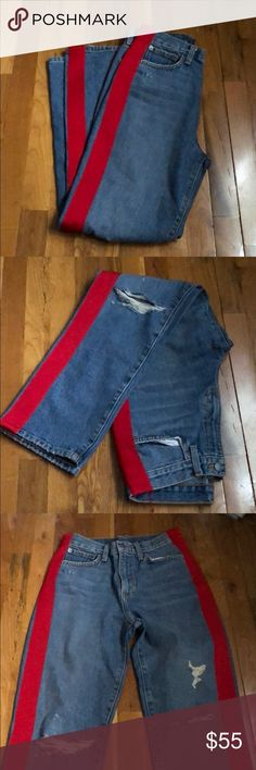 Women's Clothing Clothing, Shoes & Accessories Diplomatic Women Simply Vera Wang Jeans Stretch Stitched Open Pockets Size 6 Distressed