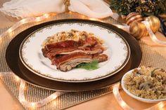 Lechón con arroz navideño de hongos y nueces Recetas – PRONACA Procesadora Nacional de Alimentos