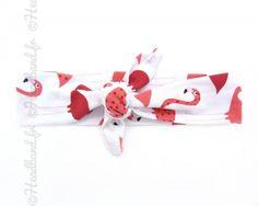 Bandeau imprimé flamand rose