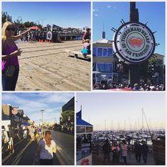 Taking a stroll along the pier #sanfrancisco #fishermanswharf #boats http://ift.tt/1MA36T3 - http://ift.tt/1HQJd81