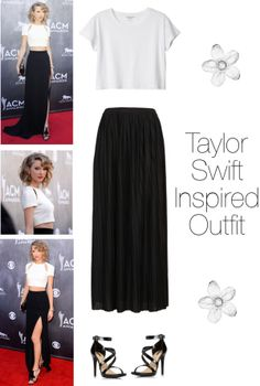 """""""Taylor Swift Inspired Outfit"""" by rebuenger on Polyvore"""