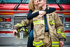 Image detail for -toronto fire truck engagement photography Chris & Becky | Toronto ...