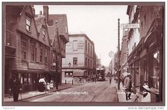 Rochester High Street. I don't know the year.