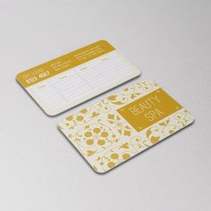 Beauty  - Personalize or Corporate Business Cards Design