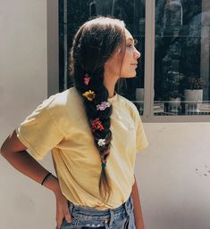 Pinterest: carolinefaith417 ★ Hair Inspiration, Hair Inspo, Thick Braid, Dance Moms, Mackenzie Ziegler, Cute Photos, Cute Pictures, Vogue Magazine, Seventeen Magazine