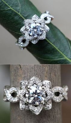 1.50 carat Fancy Diamond Wedding Engagement Ring