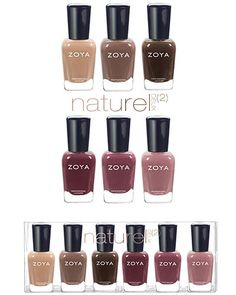 Zoya Naturel Deux Fall 2014 Collection Swatches